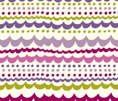 scallop_purple fabric by stacyiesthsu on Spoonflower - custom fabric