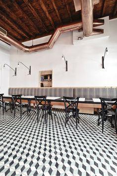 El bistró bar LOS Symi se suma al buen rollo de la nueva Grecia. - diariodesign.com