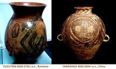Influenţele civilizaţiei CUCUTENI: YANGSHAO, China (5000-3000 î.e.n.) Vase, China, Home Decor, Decoration Home, Room Decor, Vases, Home Interior Design, Porcelain, Home Decoration