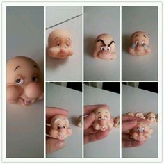 faces of the 7 Dwarfs?