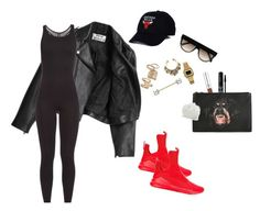 """""""Earned It - Chief Keef"""" by eyelinerxbaddecisions ❤ liked on Polyvore featuring CÉLINE, adidas, Casio, Acne Studios, Ultracor, Topshop, Puma, Rimmel, Givenchy and Tanya Taylor"""