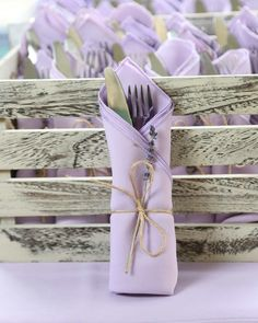 French lavender Provence countryside themed bridal shower More