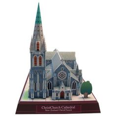 ChristChurch Cathedral, New Zealand - Asia / Oceania - Architecture - Paper Craft - Canon CREATIVE PARK