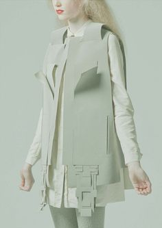 """exponential. h.  exercicedestyle: """"Yvonne Laufer """" 3d Fashion, Fashion Details, High Fashion, Fashion Looks, Womens Fashion, Fashion Design, Fashion Models, Trends 2016, Image Mode"""