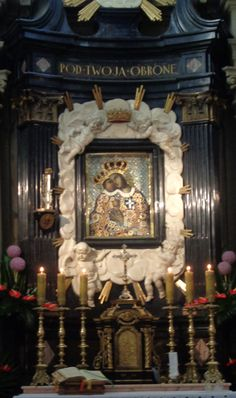Our Lady of Calvary in Kalwaria Zebrzydowska, Poland Virgin Mary Art, Place Of Worship, Sacred Art, Our Lady, Poland, Frame, Europe, Icons, Google Search