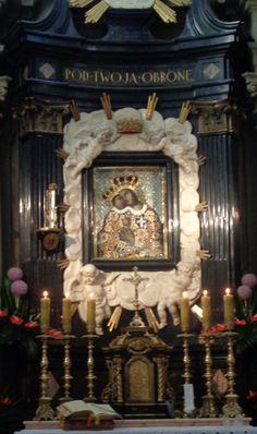 Our Lady of Calvary in Kalwaria Zebrzydowska, Poland Virgin Mary Art, Place Of Worship, Sacred Art, Poland, Frame, Europe, Icons, Google Search, Lady