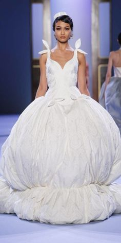 Ulyana Sergeenko Couture SS 2014 snow white