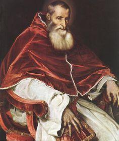 Papa Paolo III Tiziano