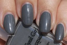 Swatch of Blue-Eyed Girl Lacquer Prototype W14 7.0