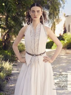 Abito Brunello Cucinelli - Ph. Antonio Redaelli - Stylist Elisa Nascimbene - Vogue Sposa n. 132 Marzo 2015