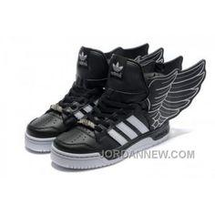Adidas Originals Jeremy Scott X JS Wings 2.0 Black White Top Deals, Price: 68.74€ - Air Jordan Shoes, Michael Jordan Shoes - JordanNew.com