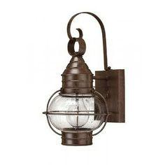 Lincoln American Lighting CAPE COD outdoor bronze wall lantern, small  £159.00