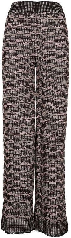M Missoni Missoni Patterned Trousers