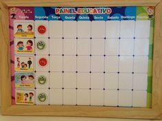 Painel Magnético Educativo Super Nanny