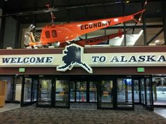 Ted Stevens Anchorage International Airport (ANC) in Anchorage, AK