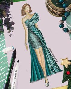 Dress Design Drawing, Dress Design Sketches, Fashion Design Sketchbook, Dress Drawing, Fashion Design Drawings, Fashion Sketches, Fashion Illustration Poses, Dress Illustration, Fashion Drawing Dresses