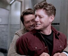 (43) Tumblr Cas and Dean