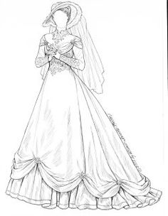 485 best coloring pages fashion images in 2019 coloring books 2000s Clothing beautiful bridal gowns of the 1970 s paper fashion paper dolls printable bride dolls