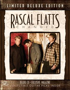 Rascal Flatts Reveal Track Listing For New Album 'CHANGED'