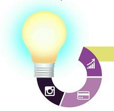 Ideas #reinventesufarmacia Light Bulb, Ideas, Home Decor, Management, Decoration Home, Room Decor, Lightbulbs, Electric Light, Interior Decorating