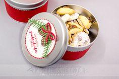 Mini-Keksdose für Weihnachten   Mediendesign Moser