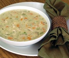 This paleo cream of chicken soup is rich and flavorful comfort food. If made with coconut oil, it's paleo autoimmune protocol-friendly.