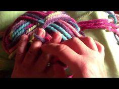 Πλεξιμο με τα δαχτυλα