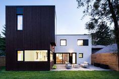 En matière de rénovation, de transformation et d'agencement tout est possible ou presque... Cette maison située à Montréal, était une maison en béton terne
