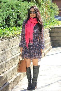 NY Trendy Moms #style #scarves