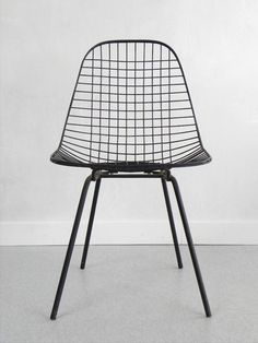 —Vitra wire chair