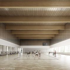 Josep Ferrando Architecture. 1st prize Sports Pavilion in Tarragona for the Mediterranean Games 2017. [Images: Play-time]