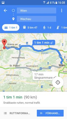 1 timme bilresa wien-wachau valley.