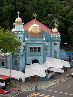 Malabar Muslim Jama-ath Mosque - Singapore | Beautiful Mosques Gallery around the world