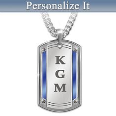 Proud To Call You Son Personalized Pendant Necklace