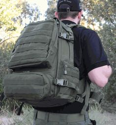LA Police Gear Operator Backpack