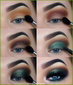 Eye Makeup Tips, Makeup Hacks, Eyeshadow Makeup, Makeup Inspo, Makeup Art, Beauty Makeup, Makeup Ideas, Makeup Products, Blue Eyeshadow