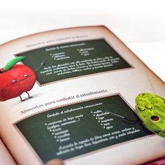 """Libro """"El recetario mágico"""" - Play Attitude #manzana, #alcachofa, #cocina, #recipe, #cook, #kids, #niño, #libro, #book, #cocinadivetida #platosdivertidos #illustration #ilustración"""