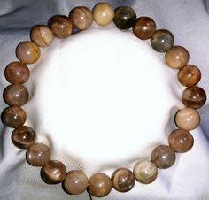 Sonnenstein Heilstein Perlen Armband