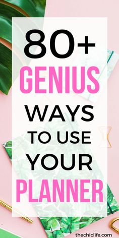 Get 80+ GENIUS ideas for your planner, from decorating to life to study time to meal planning and more. You'll LOVE these simple planner ideas for your Happy Planner, Erin Condren, or any planner of your choice. #planner #erincondren #happyplanner #plannerideas Planner Tips, Planner Supplies, Planner Layout, Planner Pages, Life Planner, Happy Planner, Planner Stickers, Planning And Organizing, Planner Organization