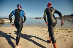 Whether you're looking for a personal challenge or just want to get healthy, becoming a triathlete is a great choice. Here's how to become one. Triathlon Training, Bike Run, Get Healthy, Wetsuit, How To Become, Challenges, Swimming, Running, Swimwear
