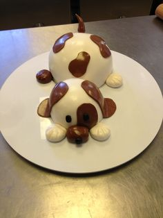 Puppy taart