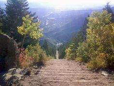 View from top of Manitou Springs Incline, miss this place