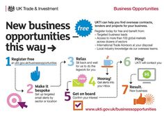 UKTI Business Opportunities Journey #Infographic