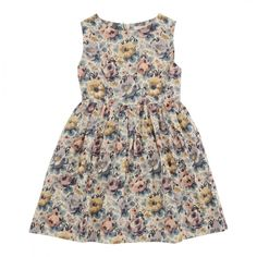 Ghita Dress - Florence - Poppy Rose
