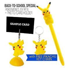 Amazon.com : AmebaConcept ® POKEMON GO School Bundle Polymer Clay Pen + Photo…