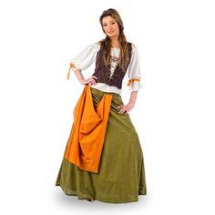 Peasant Medieval Servant Women's Costume - Blouse Bodice & Skirt - XS Elbenwald http://www.amazon.co.uk/dp/B005D6FWWC/ref=cm_sw_r_pi_dp_n6jbwb01N40AX