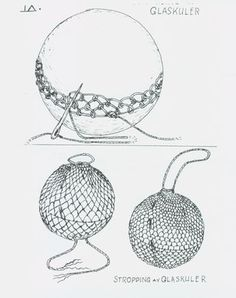 Very informative guide for all collectors of European Glass Fishing Floats, presenting close-up photos of producers markings. Wire Weaving, Basket Weaving, Hand Weaving, Wire Crochet, Crochet Art, Diy Luminaire, Bijoux Fil Aluminium, Glass Floats, Weaving Projects