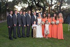 Georgio's bridal provided us all with wedding attire.