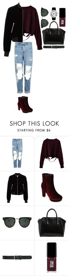 """""""Untitled #377"""" by dutchfashionlover ❤ liked on Polyvore featuring Topshop, T By Alexander Wang, Catherine Catherine Malandrino, Spitfire, Givenchy, M&Co, JINsoon and Rosendahl"""