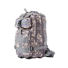 Doestyle ACU Camouflage Tactical Backpacks Outdoor Gear Assault Pack Camping Hiking Trekking Bags >>> Check out this great product.Note:It is affiliate link to Amazon.
